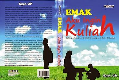 Novel : Emak Aku INgin Kuliah