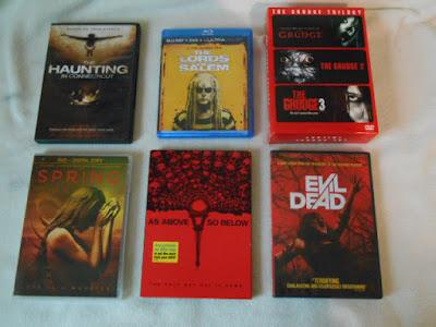 horror dvd cases