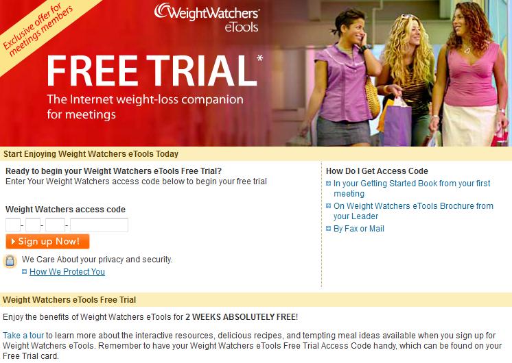 Weightwatchers. Ca: how weight watchers works meetings etools.