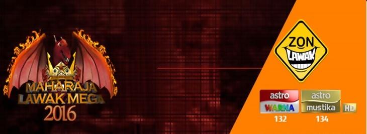 Tonton Maharaja lawak mega 2016 minggu 13 (Separuh Akhir)