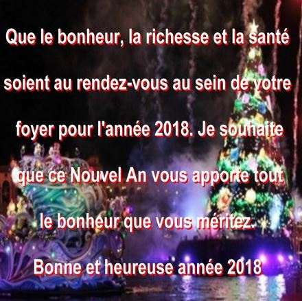 citation bonne année 2018