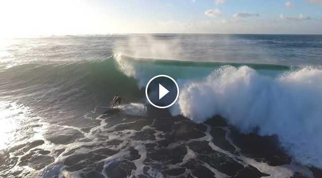 Haleiwa warm up