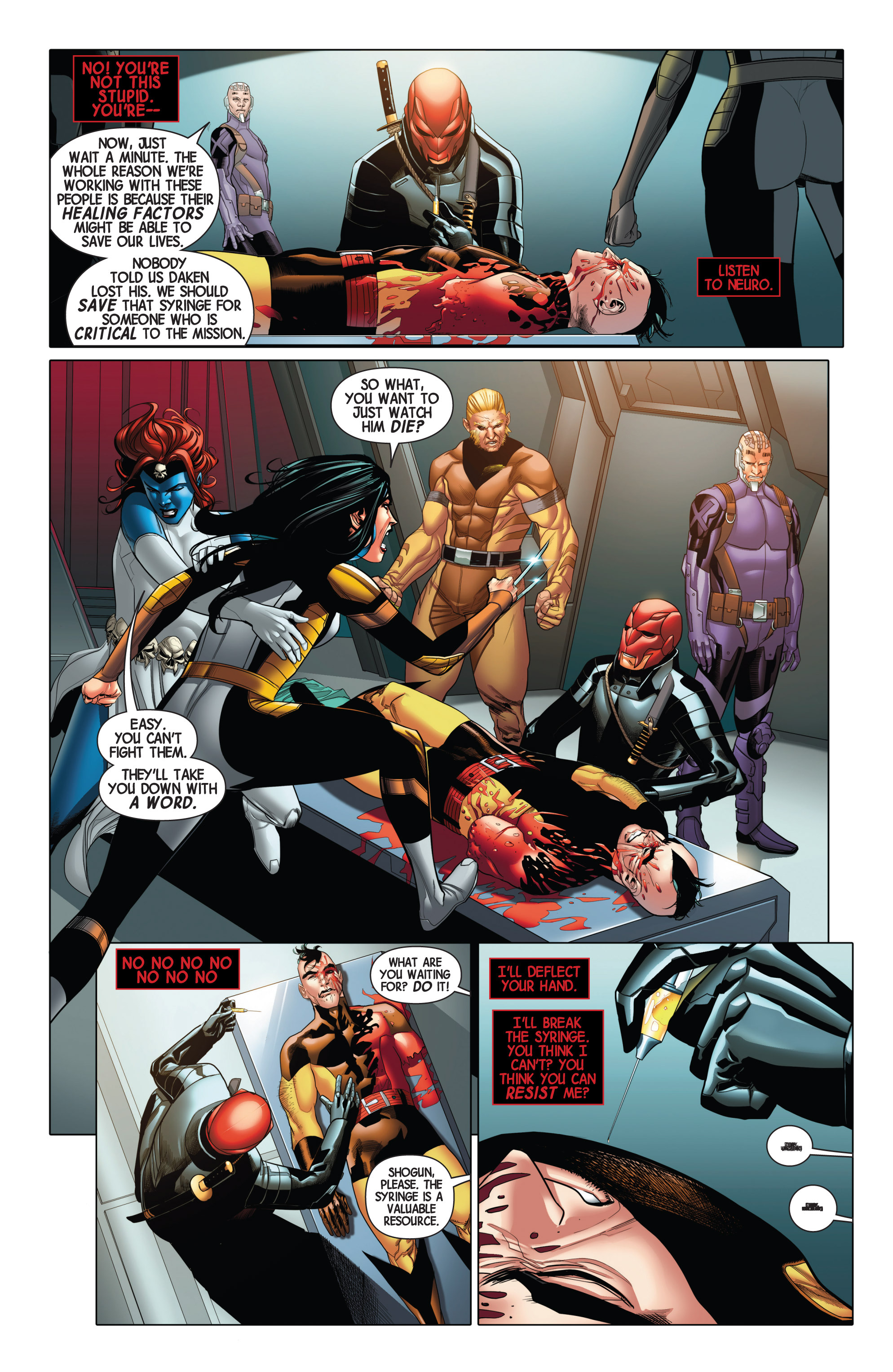 Read online Wolverines comic -  Issue #2 - 11