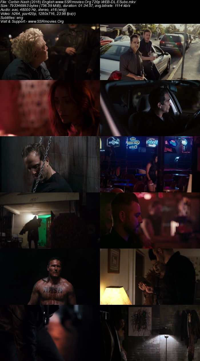 Corbin Nash (2018) English 720p WEB-DL 700MB