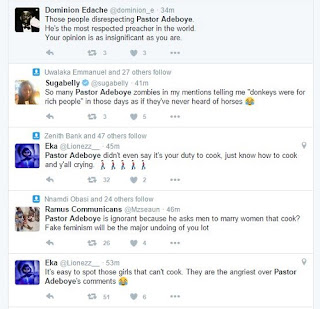 """Nigerians React To Pastor Adeboye's Advice """"Not To Marry A"""
