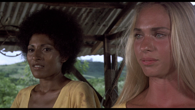 Black Mama, White Mama screenshot Pam Grier and Margaret Markov