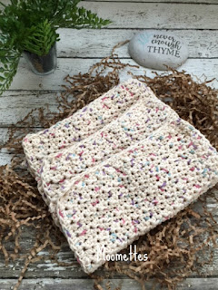 Cotton Handmade Kitchen Washcloths