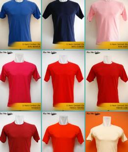 Kami Jual Kaos Polos Siap Cetak dengan Tinta berkualitas!