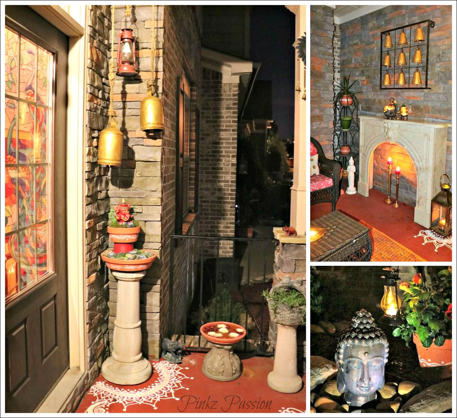 Pinkz passion harmoniously traditional home tour of padmaja rama part 1 Indian traditional home decoration ideas