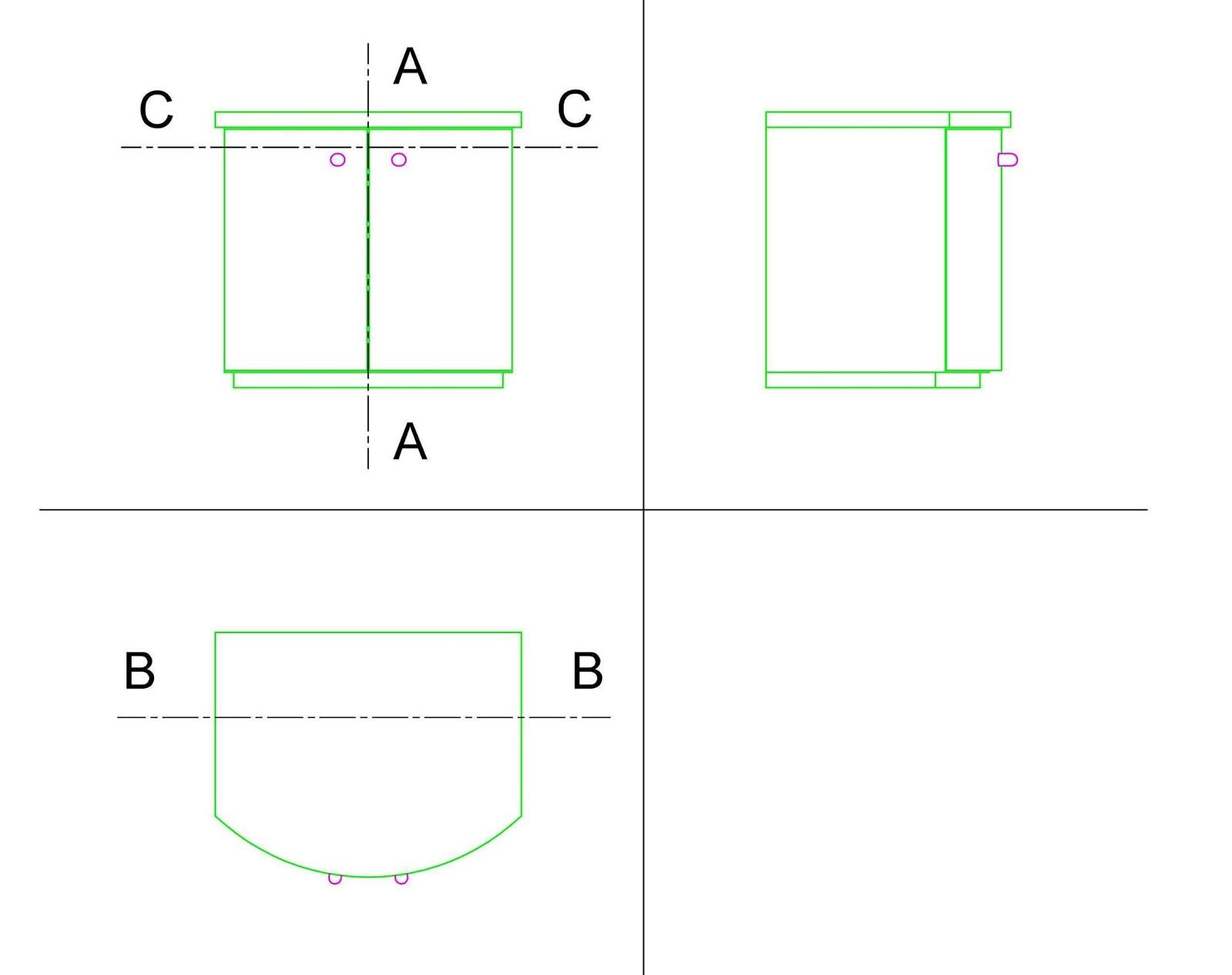 Come Costruire Sportelli In Legno costruiamo i mobili: un comodino con ante curve (prima parte)
