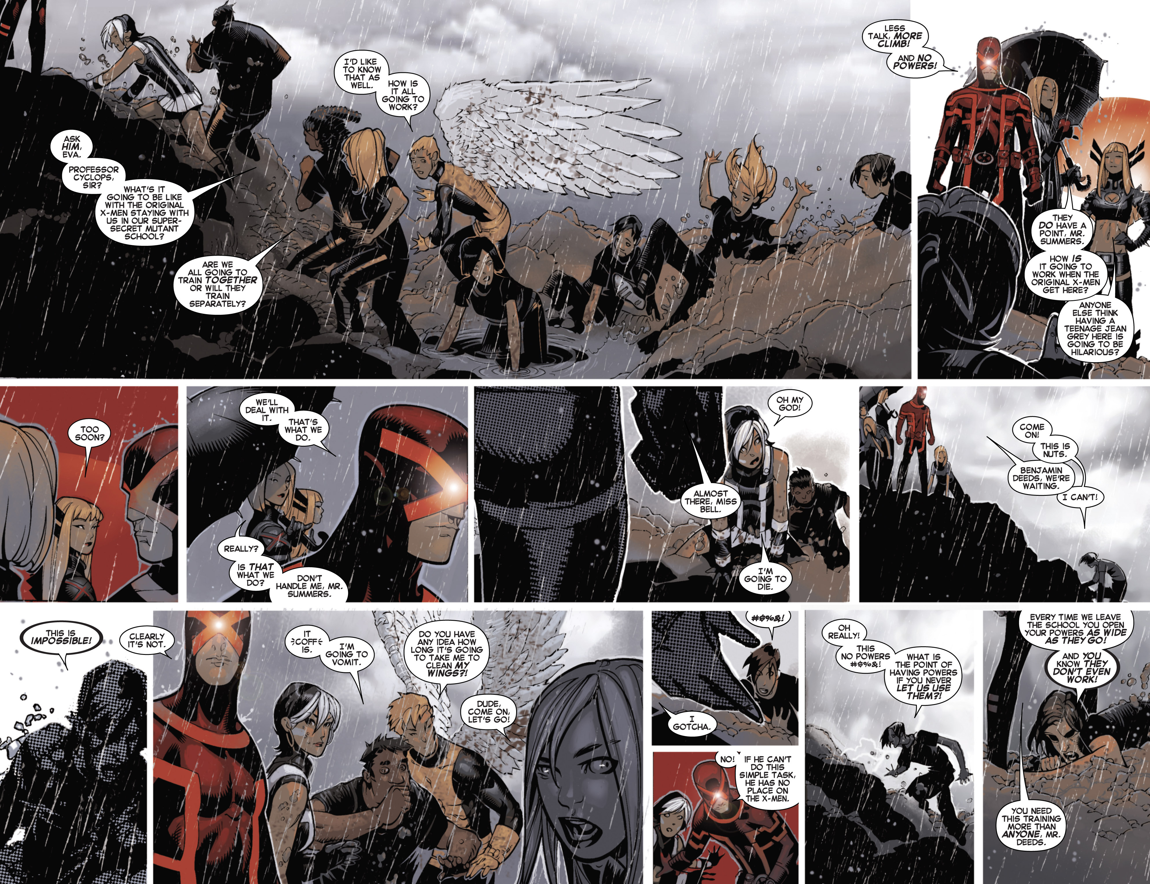 Read online Uncanny X-Men (2013) comic -  Issue # _TPB 3 - The Good, The Bad, The Inhuman - 6