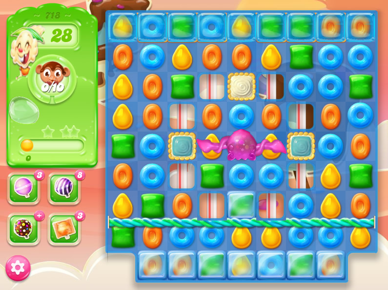 Candy Crush Jelly Saga level 718