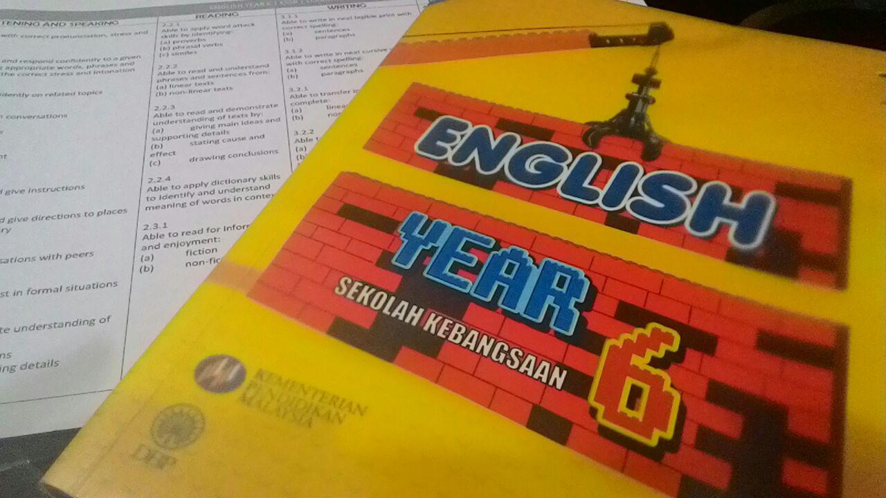 English year 6 kssr textbook brokers  | eldehoumis cf
