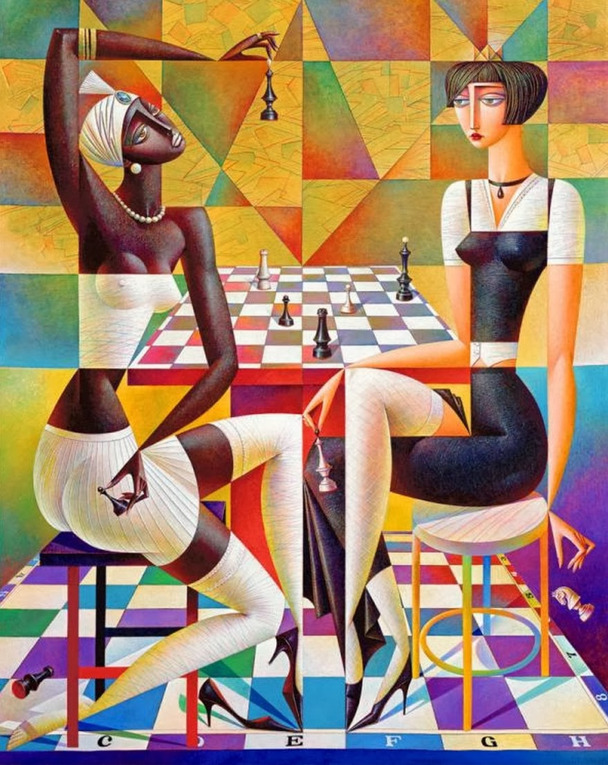 Cuadros modernos pinturas y dibujos cubismo pinturas - Cuadros minimalistas modernos lo ultimo arte ...