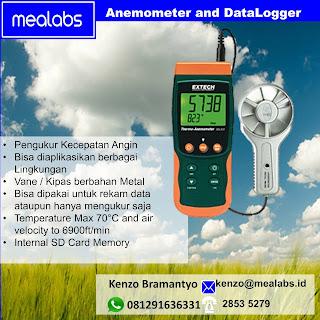 Anemometer dan Data Logger
