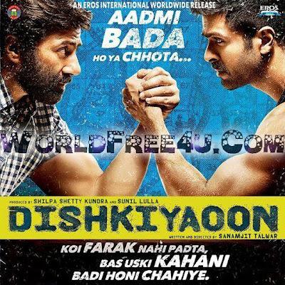 Poster Of Hindi Movie Dishkiyaoon (2014) Free Download Full New Hindi Movie Watch Online At worldfree4u.com