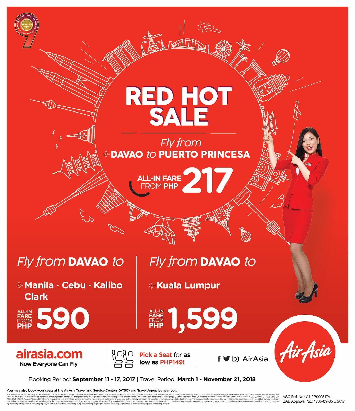 AirAsia Red Hot Sale Davao