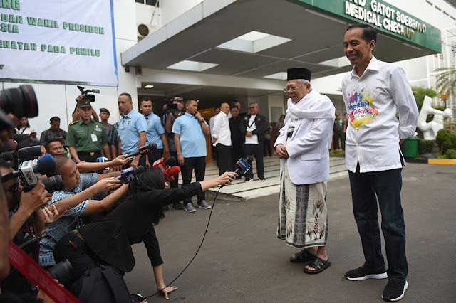 Jokowi Pilih Ma'ruf, Ahokers Kecewa Tapi Tetap Mendukung