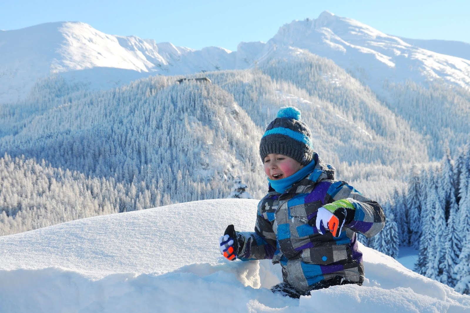 Kalatówki zimą -  propozycja na pierwszą wędrówkę z dzieckiem