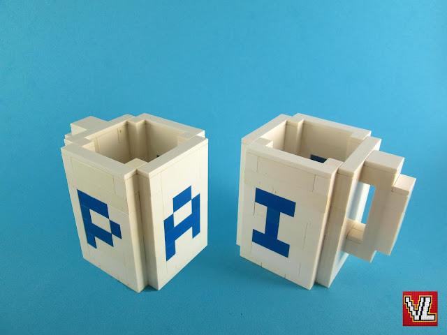 MOC LEGO Caneca para o Dia do Pai