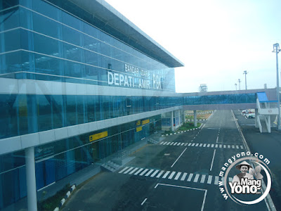 Bandara Depati Amir, Pangkal Pinang (PGK) Pulau Bangka, Provinsi Bangka Belitung.