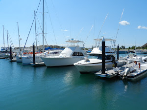 Puerto Morelos fishing boats