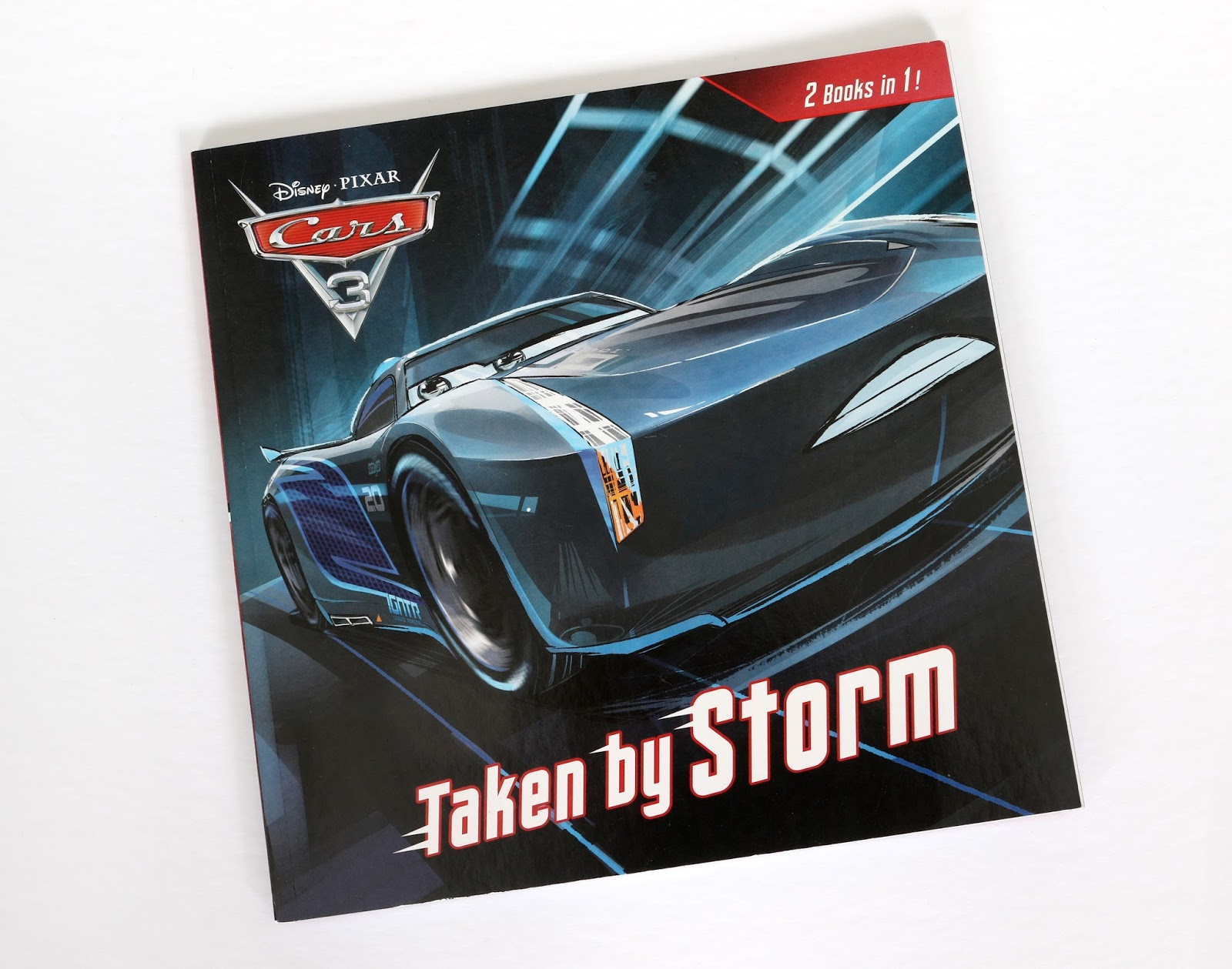Cars 3 Taken by Storm / How to be a Great Racer 2 Books in 1 review