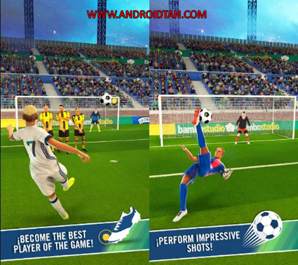 Free Dream Soccer Star Mod Apk v1.6 (Unlimited Coins/Energy) Android Terbaru 2017