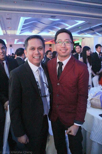 Francis A Lumbres and Renz Cheng