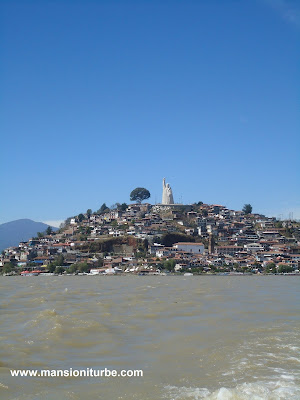 Janitzio Island on Lake Patzcuaro