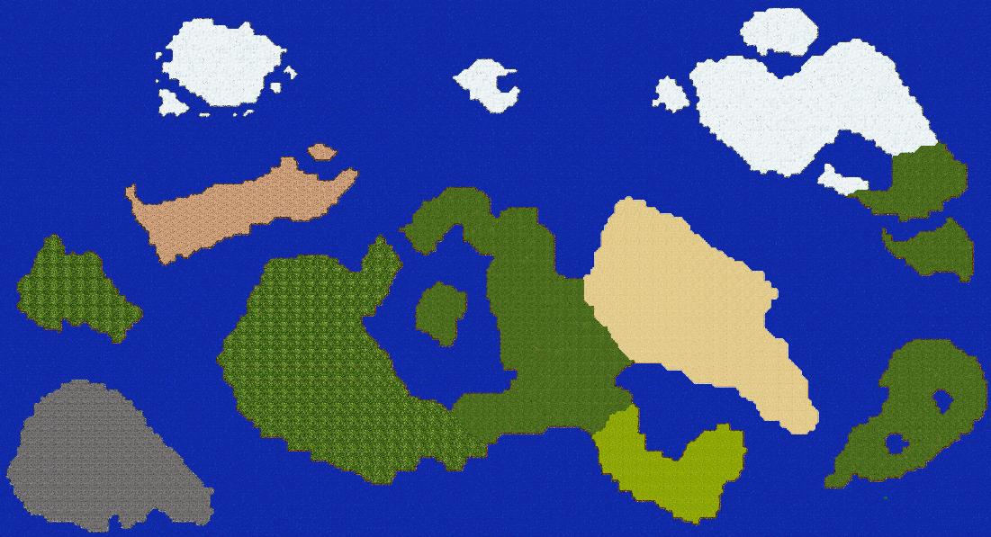 Tibia World Map.Tibia Monster World