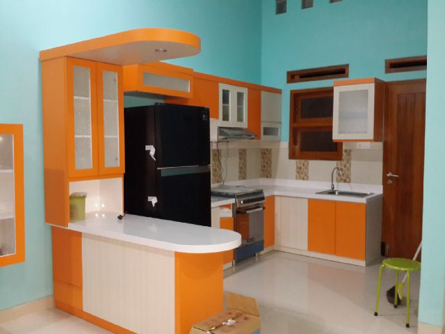 kitchen set minimalis di kota malang