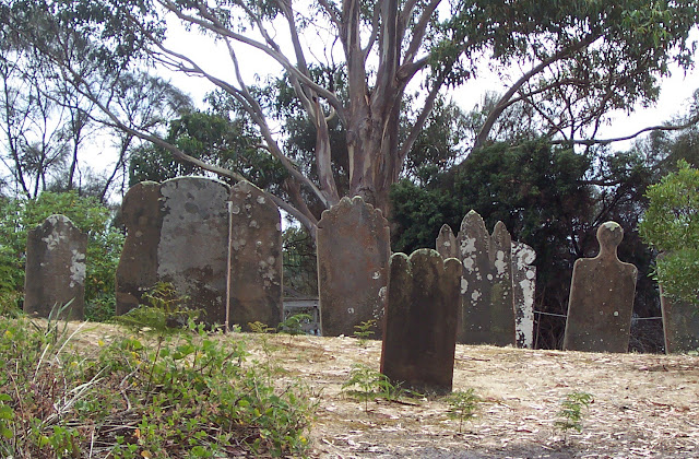 Image Attribute: The Graves on the Isle of the Dead. Photo: Wikimedia Commons.