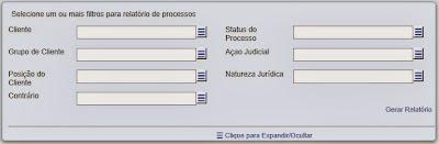 , GPJWEB Novidade – Filtros para gerar relatórios do seu jeito.