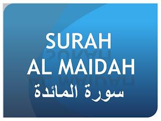Teks Bacaan Surat Al Maidah Lengkap Ayat 1 – 120