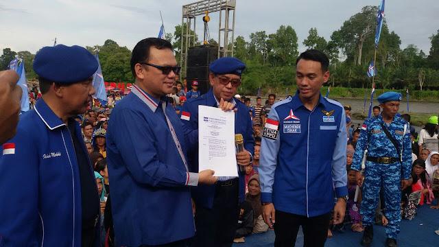 Partai Demokrat Deklarasi Dukung JM-Yus