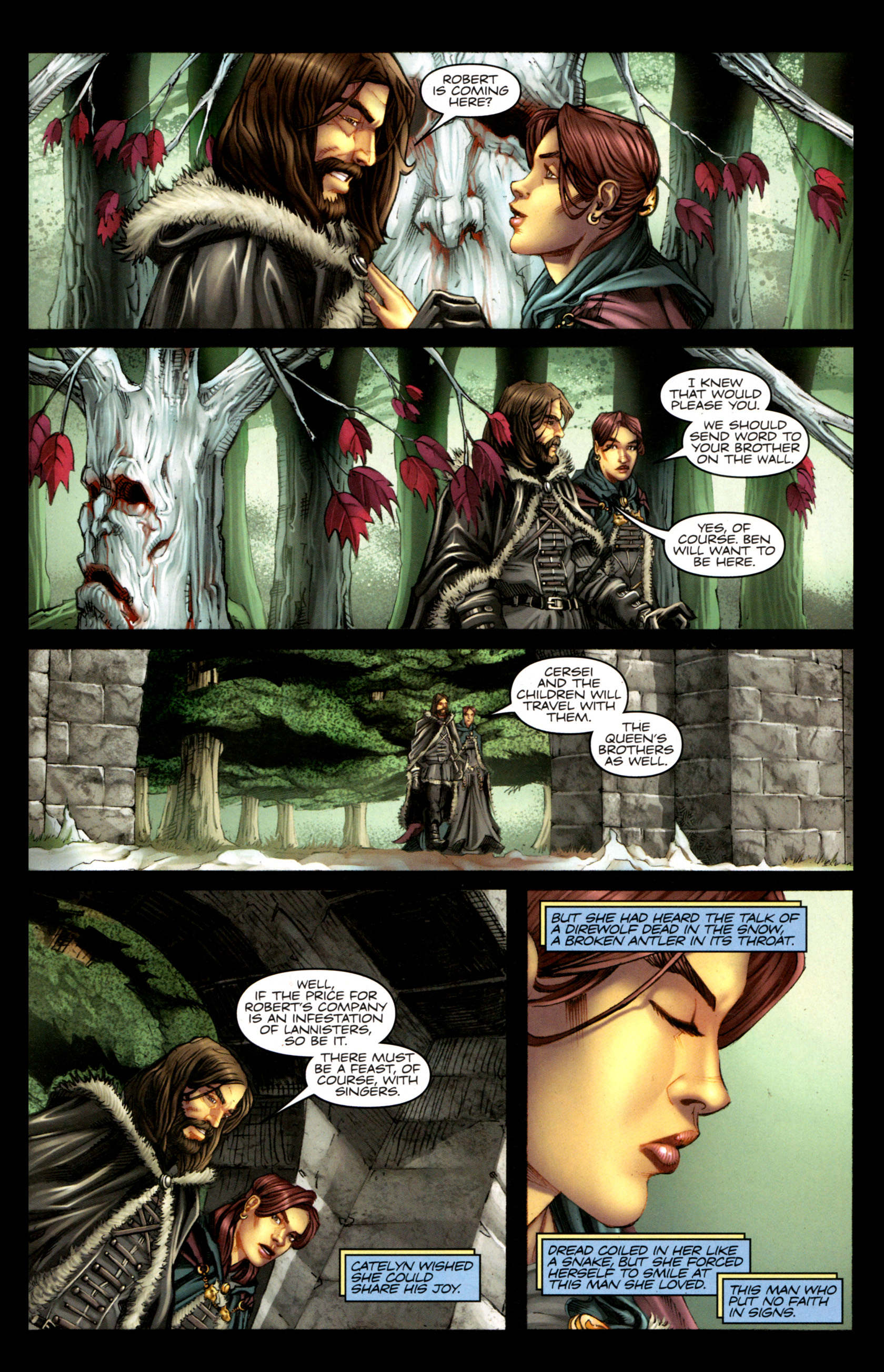 Read online A Game Of Thrones comic -  Issue #1 - 23