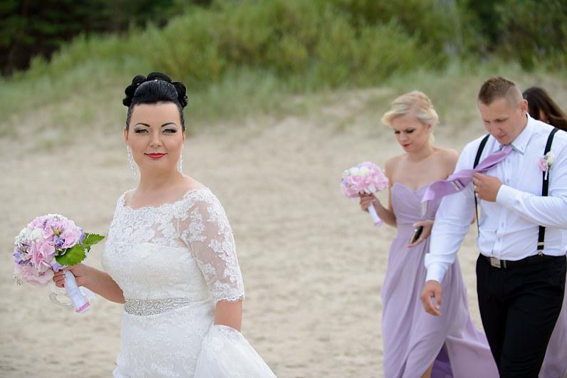 vestuvės prie jūros