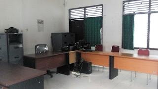 Kantor BPPD OKI Di Tinggal Saat Jam Kerja, Ac Juga Menyala