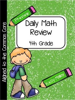 An Apple For The Teacher Daily Math Review