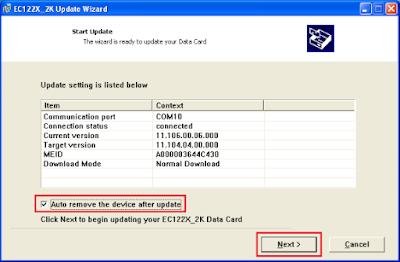 Cara Unlock Modem EC167 (AHA)