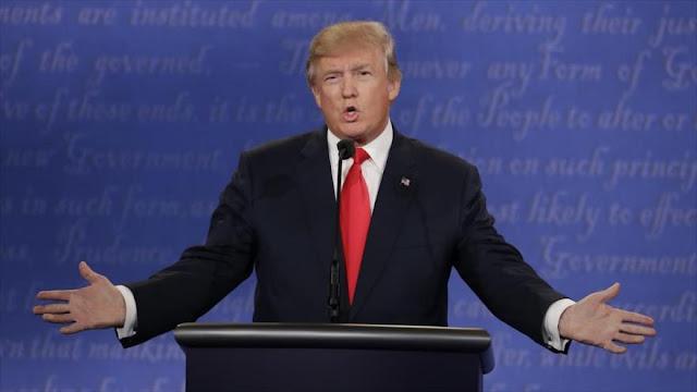 Trump, en caso de fraude no aceptará resultado de las elecciones