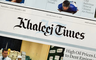 Khaleej Times Jobs for Freshers