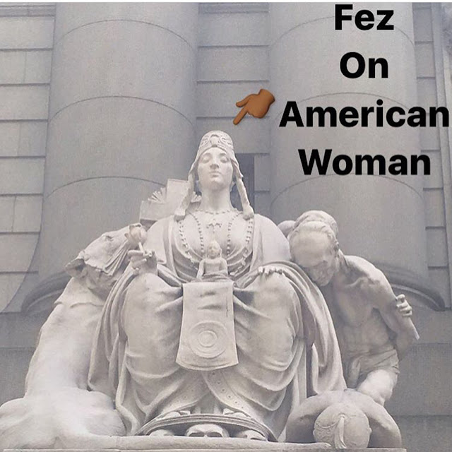 american indian museum nyc woman with fez