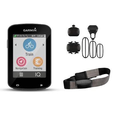 Regalos originales para ciclistas, GPS Garmin 820 pack
