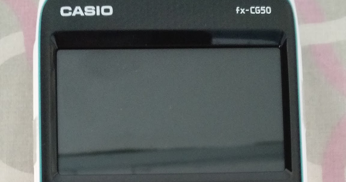 Eddie's Math and Calculator Blog: Casio fx-CG50 Review (updated 3/2