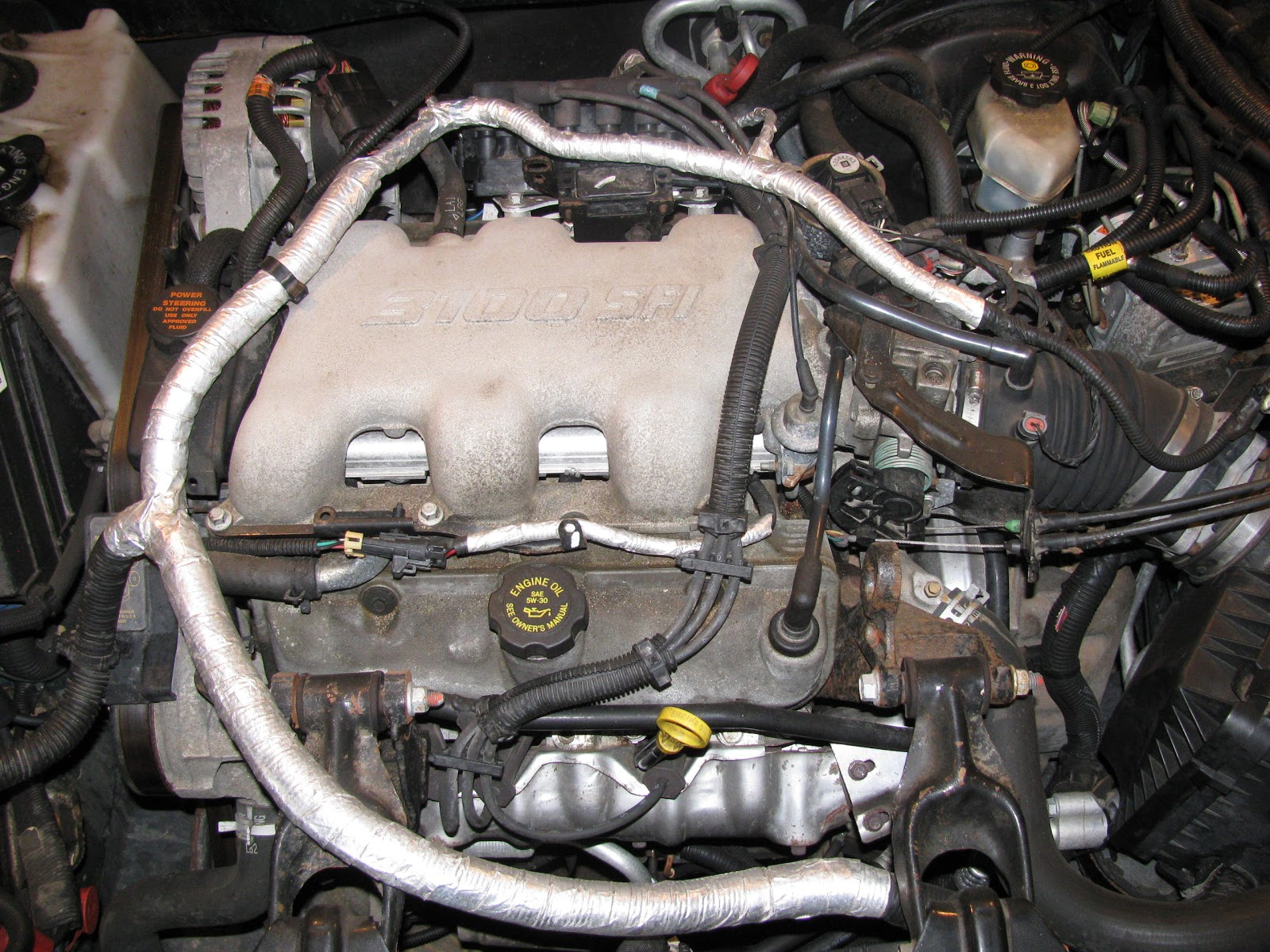 small resolution of  buick lesabre engine diagram this is the before picture of the 3 1l engine