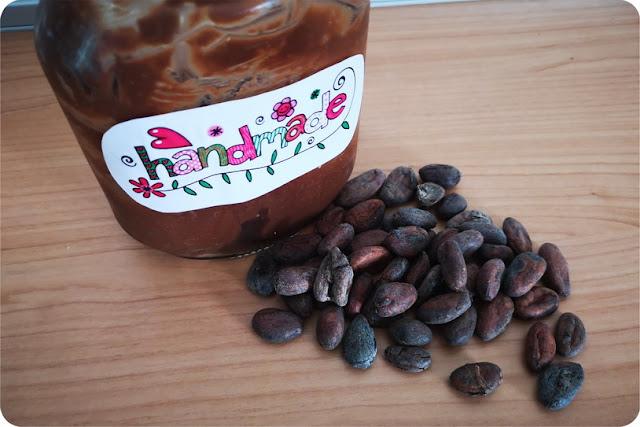 Crema spalmabile al cioccolato fatta in casa