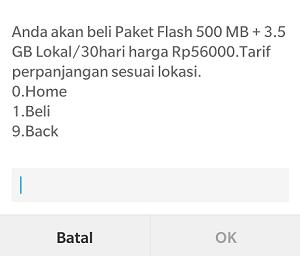 Cara daftar paket internet 50rb 4GB Telkomsel 2016