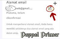 edit email paypal